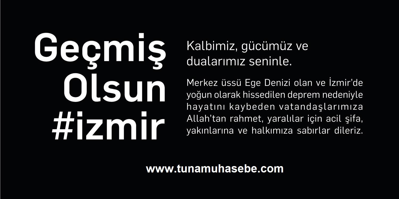 Geçmiş olsun #İzmir.