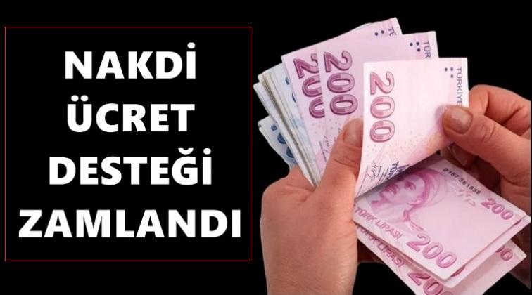 NÜD ödemesi %21,56 artırılarak 47,70 TL'ye yükseltildi